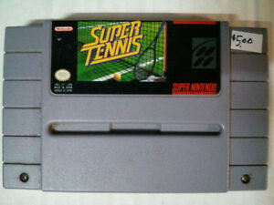Super Nintendo SNES video gameSuper Tennis$5