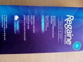Regain for women once a day scalp foam 5% Minoxidil (4 month supply)