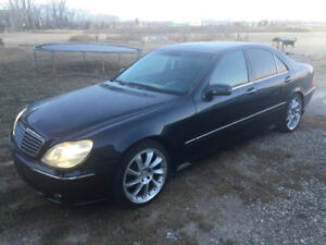 2002 Mercedes-Benz S-500!! Trades? Offers?