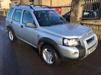 LANDROVER FREELANDER 1.8 (2004) 72000 MILES , MOT 21/10/17, WARRANTY £1495