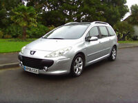 Superb 2006 Diesel Peugeot 307 SW 1.6HDi SE Lovely Condition Drives Beautifully