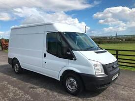 2012 Ford Transit 2.2TDCi 125PS 300 MWB Med Roof Van EURO 5 White
