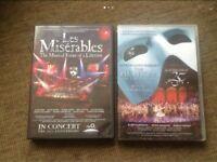 Musicals DVD's , £5 EACH