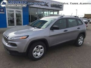 2014 Jeep Cherokee Sport   CLOTH! BLUETOOTH! STABILITY CONTROL!