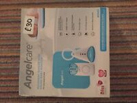 Angel care baby monitor with movement sensor