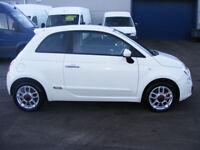 Fiat 500 1.4I-16V SPORT (white) 2010