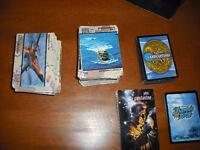Cartes d'armé, Cardcaptors, Vertigo et Shaman King