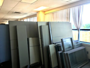 Office Partitions/windows