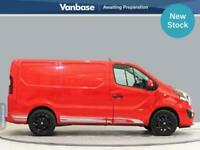 2018 Vauxhall Vivaro 2700 1.6CDTi BiTurbo 125PS Limited Edition Short Wheelbase