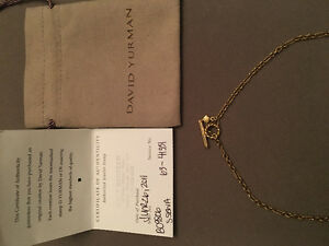David Yurman 16 Inches 18K Yellow Gold Chain or Necklace