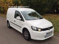 VW CADDY 1.6Tdi BLUEMOTION 63Reg NO VAT FULL HISTORY ONLY 65,000 MILES