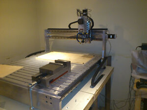 4 Axis 40x48 CNC Router/Mill - Turn-key