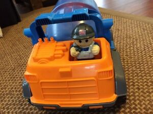 Megabloks Truck with Cement Mixer