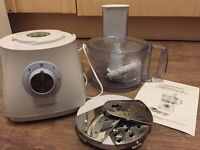 Cookworks SG500 White Food Processor - Only Used Twice!