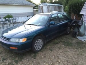 1994 Accord wagon for parts