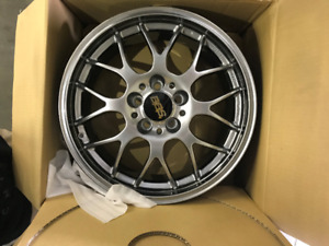 BBS RG-R  Diamond Black 17x7.5 5x108 Forged Ford Volvo Lincoln