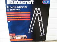 Echelle articulée Mastercraft 7 en 1 - 17 pieds