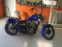 2008 Harley street bob custom NEW PRICE $15 500 FIRM