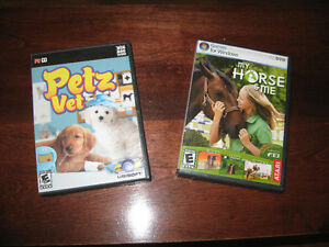 Petz Vet and My Horse & Me Games