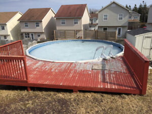 Above ground pool 27foot