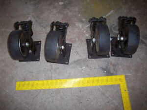 4 Heavy Duty Casters
