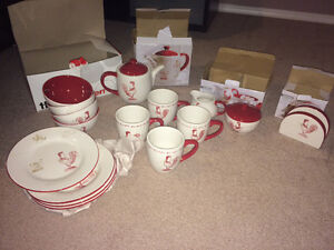 Brand New,Never Used Stokes Ceramic Dinning Set