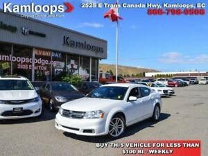 2012 Dodge Avenger SXT  - heated mirrors -  leather trim