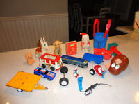 Various Vintage Toys from 1960 to 80's -Prices for each Below