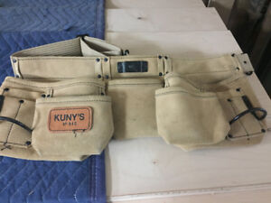 Kuny's leather tool pouch $14.00 OBO!
