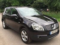 Nissan qashqai tekna diesel 1.5 leather panoramic new cambelt and waterpump