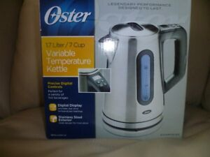 Oster variable temperature kettle for sale