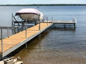 Aluminum Boat Lift, with Electric Winch for Sale