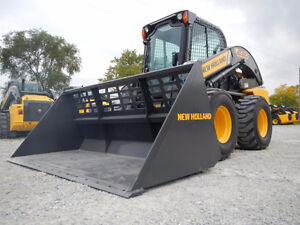 Need snow moved? Machine with bucket available