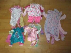 vêtements bébé fille et garcon 6 a 12 mois(comme Neuf)