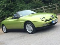 Verde Acido Green Alfa Romeo 916 GTV Spider 2.0 16v Twin Spark