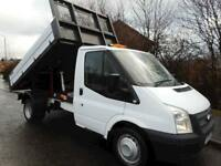 2014 Ford Transit 350 single cab Drw Tipper 2.2 Manual Diesel One Stop tipper