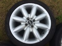 "Bmw mini 17""alloy wheels"