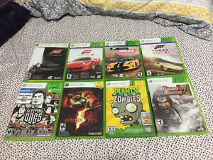Assorted Xbox 360 Games. $10 each or 5 for $40