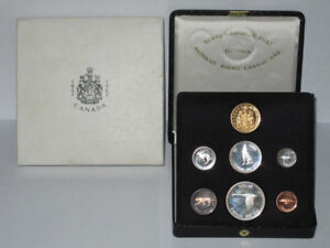 Canada 1967 Specimen Proof Set complete with Gold Coin and Case