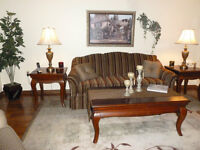 Coffee Table and 2 end tables