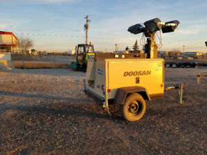 Doosan Light Towers For Rent