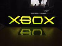 Mock Neon Xbox Sign SUPER RARE