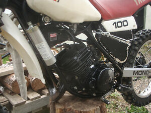 1981 yamaha yz 100/trade for street legal honda Prince George British Columbia image 2