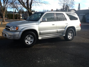 2000 Toyota 4Runner Limited SUV,