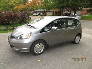 2009 Honda Fit LX Hatchback  Only 57,500 Km.