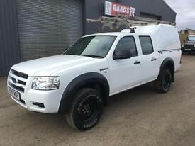 2009 (59) Ford Ranger 2.5 TDCi Double Cab 4x4 Diesel Pickup