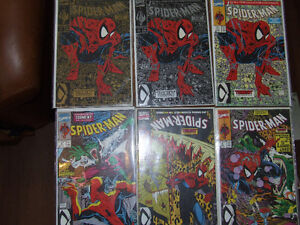 Spider-Man 1990 #1-16 3 different Issue #1 covers