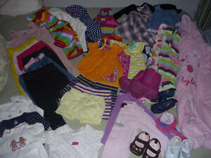 Girls clothes mixed sizes 40 pcs