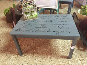 Beautiful Stencilled Coffee Table