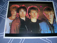 "U2  Vintage mid-1980's 8""x10"" picture of the band"
